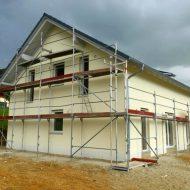 Baufortschritt beim Mitwachshaus Flair 148 der Familie M. bei Ortenburg!
