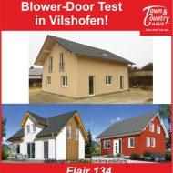 Blower-Dooer Test in Vilshofen!