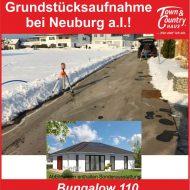 Grundstücksaufnahme bei Neuburg a.I.!