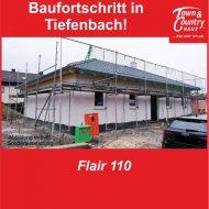 Baufortschritt in Tiefenbach!