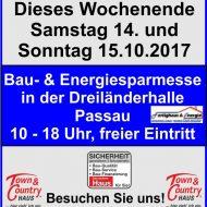 14-15.10.17 Baumesse in Passau!