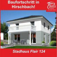 Baufortschritt in Hirschbach!