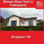 Blower-Door-Test in Tiefenbach!