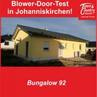 Blower-Door-Test in Johanniskirchen!