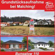 Grundstücksaufnahme bei Malching!