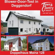 Blower Door Test in Deggendorf