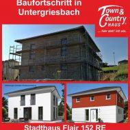 Baufortschritt in Untergriesbach
