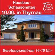 Hausbau – Schausonntag in Thyrnau!