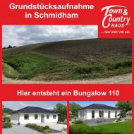 Grundstücksaufnahme in Schmidham