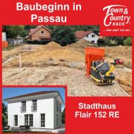 Baubeginn in Passau