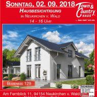 Hausbesichtigung in Neukirchen v. Wald!