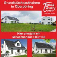 Grundstücksaufnahme in Oberpöring