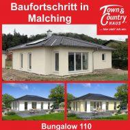 Baufortschritt in Malching