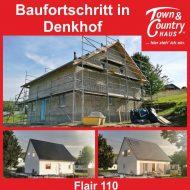 Baufortschritt in Denkhof