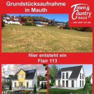 Grundstücksaufnahme in Mauth