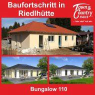 Baufortschritt in Riedlhütte