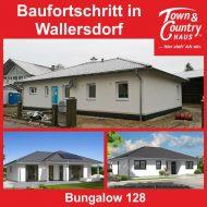 Baufortschritt in Wallersdorf