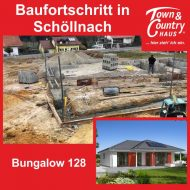 Baufortschritt in Schöllnach
