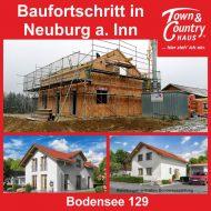 Baufortschritt in Neuburg am Inn