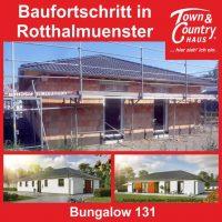 Baufortschritt in Rotthalmünster.
