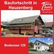 Baufortschritt in Hauzenberg