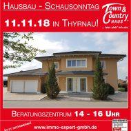 Hausbau-Schausonntag in Thyrnau!