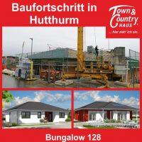 Baufortschritt in Hutturm