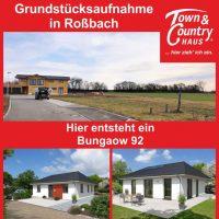 Grundstücksaufnahme in Roßbach