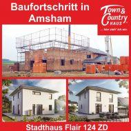Baufortschritt in Amsham