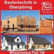 Baufortschritt in Oberpöring