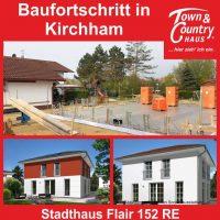 Baufortschritt in Kirchham