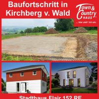 Baufortschritt in Kirchberg v. Wald