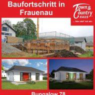 Baufortschritt in Frauenau