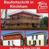 Baufortschritt in Kirchham bei Pocking