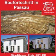 Baufortschritt in Passau