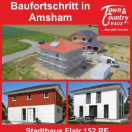 Baufortschritt in Amsahm