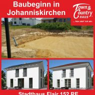 Baubeginn in Johanniskirchen